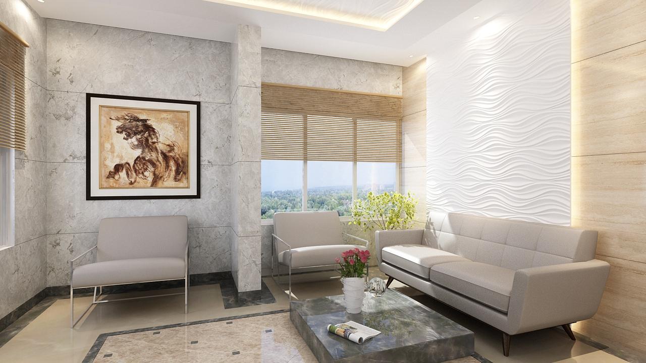 Antariksha Apartment Lobby image.