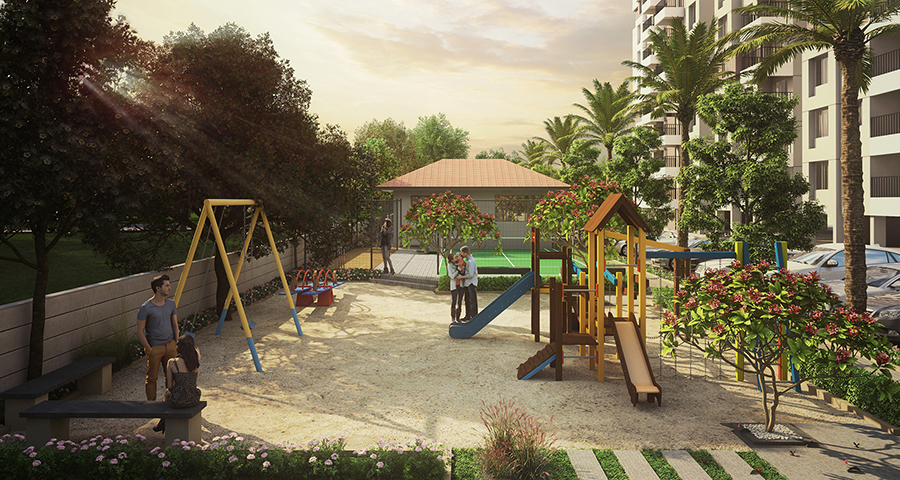 Antariksha Apartment Play Area image.